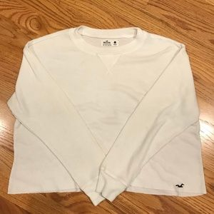 HOLLISTER WHITE LONG SLEEVE
